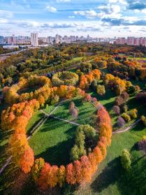 Октябрь в парке 50-летия Октября