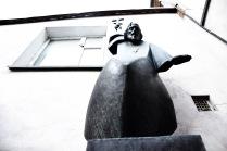 Дворик скульптора