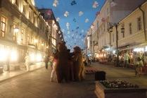 Медведи добрались до Москвы
