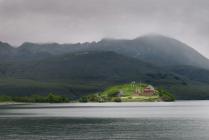 Берег Курильского озера