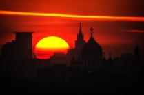 Москва на рассвете