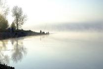 рыбаки и туман