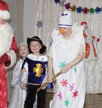 Новогодняя ёлка в детском саду.