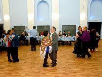 белый танец в клубе Надежда