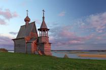 Над просторами Русского Севера