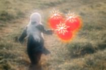 Девочка с шариками. Пикториальная фотография