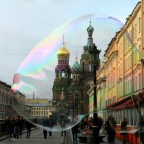 Радуга в Петербурге