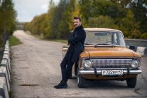 Ретро Москвич до сих пор на дорогах РФ