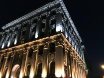 Ночная архитектура вблизи арбата