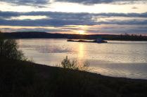 река Кама трудяга