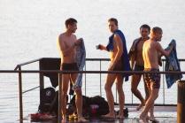 здоровый образ жизни, купальщики осенние