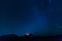 Звездное небо Камчатки