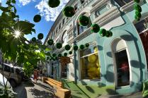 Покрасить лето в зеленый цвет