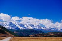 Снежные вершины Алтая