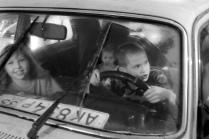 в старом дедушкином авто