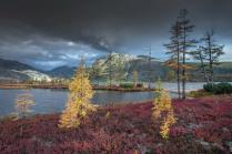 Краски осени, озеро Джека Лондона