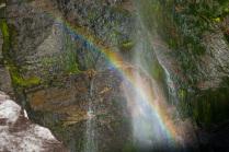 Радужный водопад