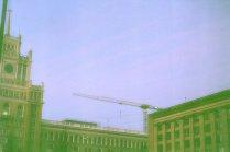 Маяковская в зелени