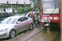 Спасение в трамвае
