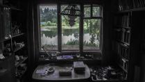 Вид из окна художника