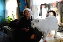 Баба Валя и Таня /кошка/