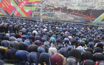 Молитва в честь праздника Курбан-байрам