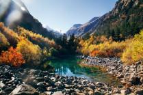 Золотая осень Домбай