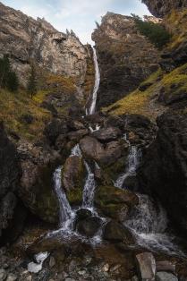 Водопад Жираф на реке Шинок