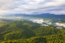 Вид с горы Ахун.Сочи.