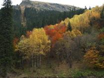 Осень в Домбае