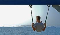 """В ожидании Праздника, из цикла """"День Военно-морского флота""""."""
