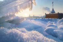 Долгожданная зима в Питере
