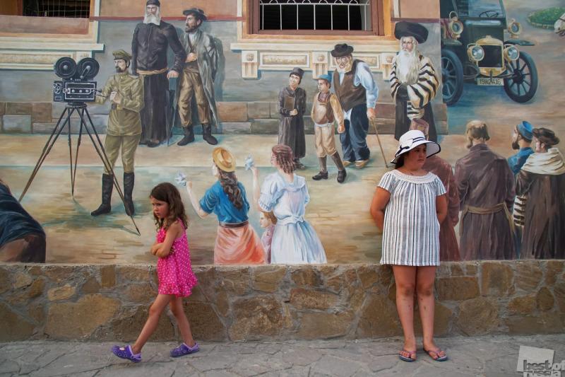 Живопись на стене