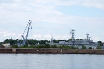 Крейсер Аврора на ремонте