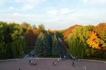 Вид с Кургана Бессмертия в городе Брянске