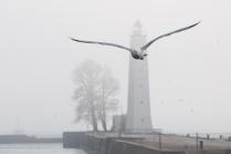 Маяк на Петровской пристани