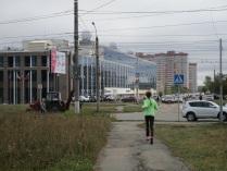 """""""Пробежка на фоне города""""."""