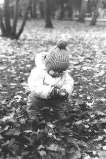 Сын в парке