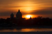 вечер в Петербурге