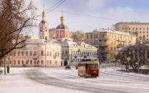 Утро старой Москвы