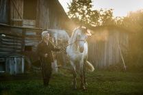 Хозяин и лошадь