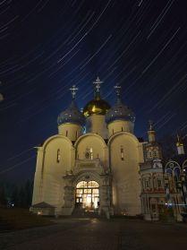 Пасхальная ночь.Свято-Троицкая Сергиева Лавра Успенский собор