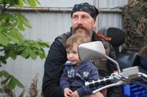 Дети, мотоциклы, счастье...