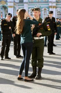 Встреча на Дворцовой площади