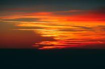 Закат в небе
