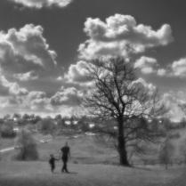 2 Прогулки по Ясной Поляне, объектив монокль, из серии