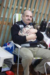 Дед с собачкой