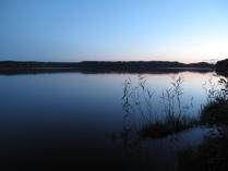 Вечер. Озеро Сапшо