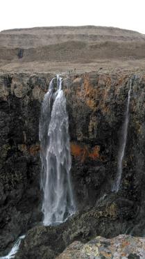 Водопады плато Путорана - непреступная красота