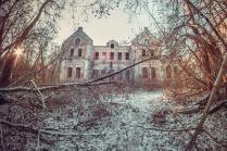 Дворец фон Мекк в селе Хрусловка